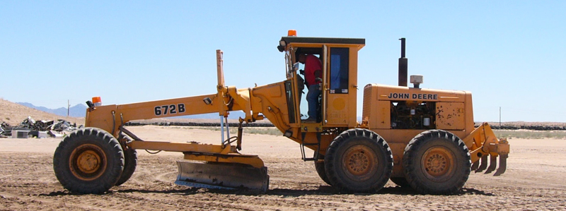 Landfills With Tractors : South yuma county landfill equipment