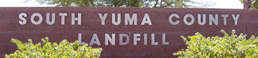South Yuma County Landfill Home